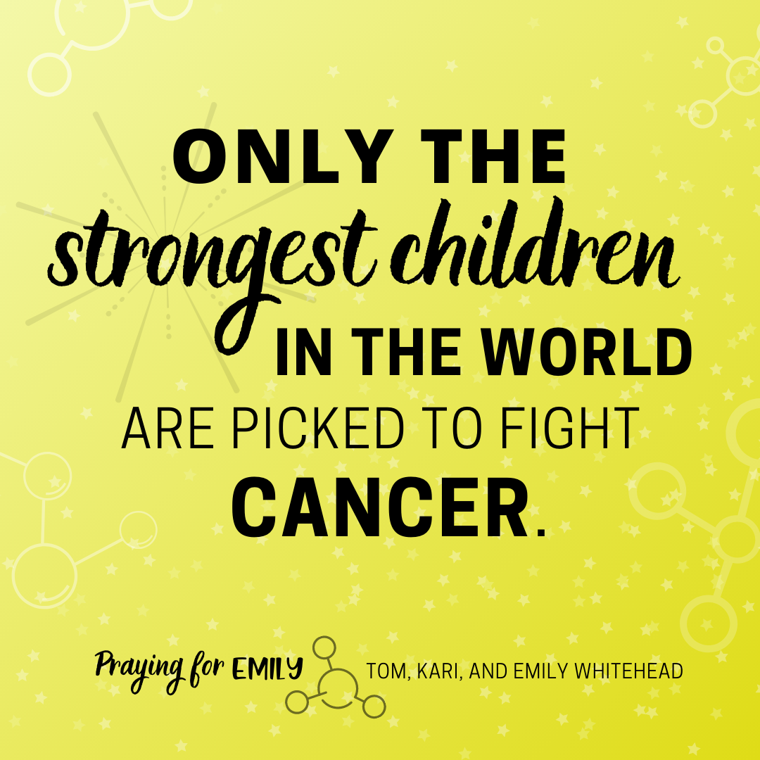 Only the strongest children are picked to fight cancer meme