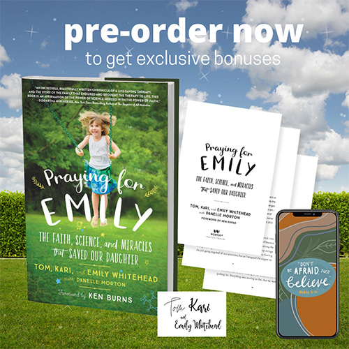 pre-order praying for emily book for bonus content
